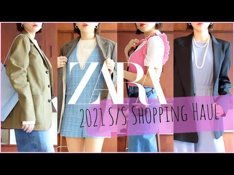 [ZARA]充满春天气息的购物how声-推荐搭配美丽的ZaraShinsang💛春季针织衫。 夹克协调,Zara连衣裙,西装衬衫等。