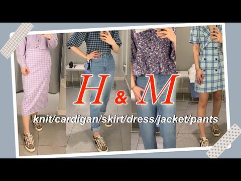 H&M春季新款/从春季到夏季/仅收集漂亮的衣服/漂亮的柔和色彩协调/购买春天的衣服时/在家轻松享受👗