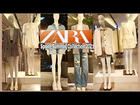 ZARA Последние весенние |  ZARA Summer новинки в коллекции март 2021