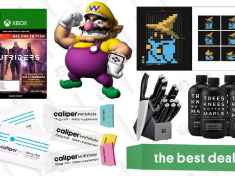 금요일 베스트 딜 : Apple Watch SE, Xbox 용 Outriders, Henckels Knife Set, Caliper CBD Powder, Final Fantasy Pixel Art Book 등