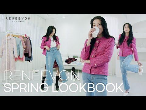 RENEEVON 2021 SPRING LOOKBOOK 🌼Reniborn Spring New Review #One Piece #Jacket    ID Look Mall IDTV