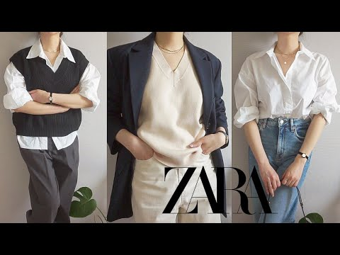 Zarahowl    Spring new recommended/not recommended 💚 Life shirt, knit best, denim, long skirt, one piece ZARA 2021 S/S HAUL