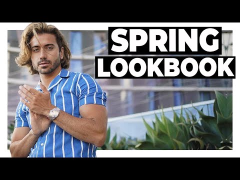 Easy Spring Outfits for Men   Men's Fashion Lookbook