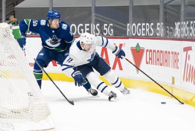 การสูญเสีย Hyman จะเป็นผลมาจาก Maple Leafs