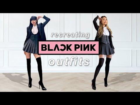 BLACKPINK style Lookbook 🖤💗   KPOP fashion 2021