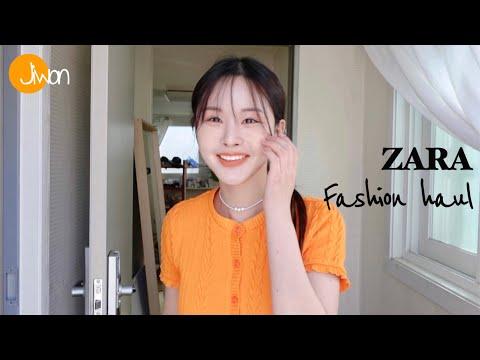 Zarahaul ZARA S/S spring and summer fashion lookbook🍏 daily look kuanku date look coordination knit cardigan dress