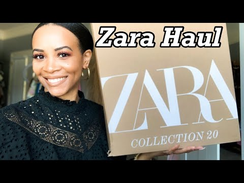 ZARA TRY ON HAUL SPRING/SUMMER 2021 + Nike Shoe Unboxing    by Crystal Momon