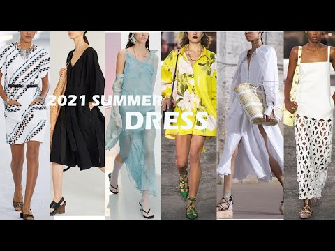2021 S/S summer dress trend + recommended dress by body type / slim looking dress?