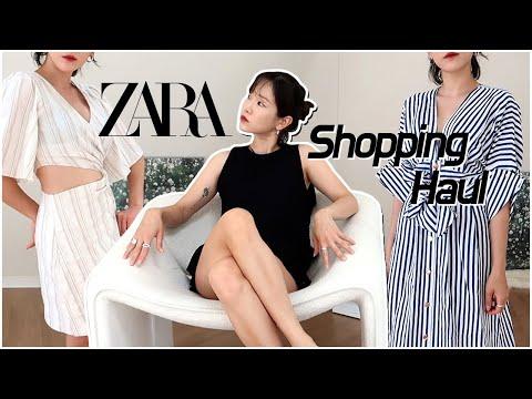 (SUB) ZARA Zara summer new dress & setup!  Shopping Howl💰 Summer Fashion Lookbook  ZARA summer fashion haul 🍏