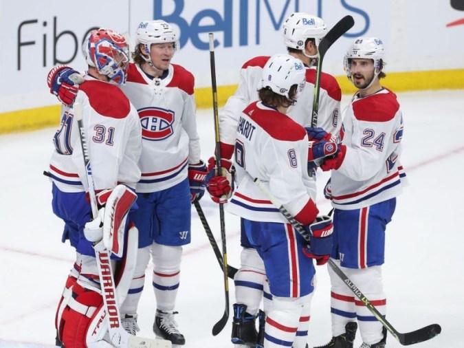 Canadiens Game Day : Habs, 플레이 오프 연승을 5 경기로 연장