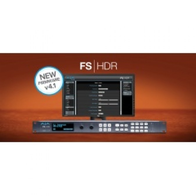 AJA, FS-HDR 실시간 HDR / WCG 컨버터 및 프레임 동기화 업그레이드