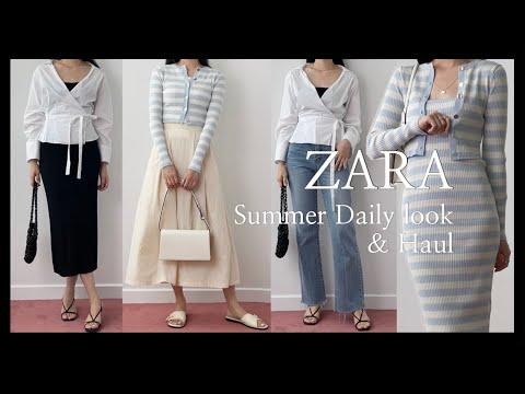 ZARA S/S New Summer Howl & Daily Look 13 ของ Zara |  เดรส, เสื้อ, เสื้อถัก, กางเกงยีนส์ | jeans  ZARA ลาก