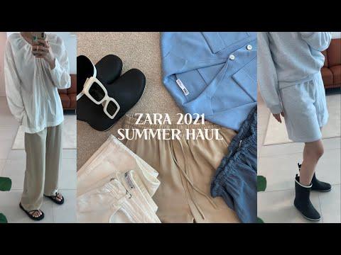 ✔ZARA 2021 夏季 |  Zara 夏季新款 Howl | 为 Zara 促销做好准备 | 夏季时尚Lookbook | 购物嚎叫| 垂直 Lookbook / simple.B