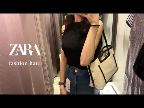 2021 Zara Zara Summer New Howl & Try On • Summer Fashion Howl Lookbook Shopping • ZARA summer fashion haul • Zara Summer Outfit Recommended