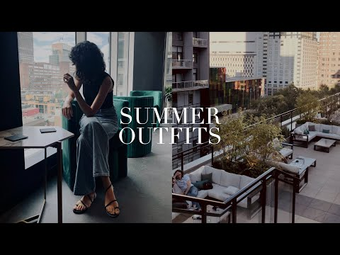 SUMMER OUTFITS   Fashion lookbook 2021