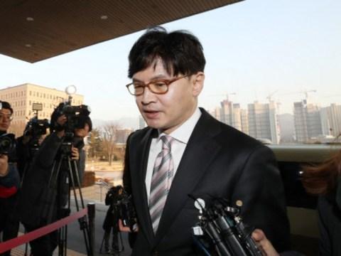 "Han Dong-hoon, ""Tugas jaksa adalah menanggung pembalasan dari kekuasaan…  Ambillah dengan tenang."""