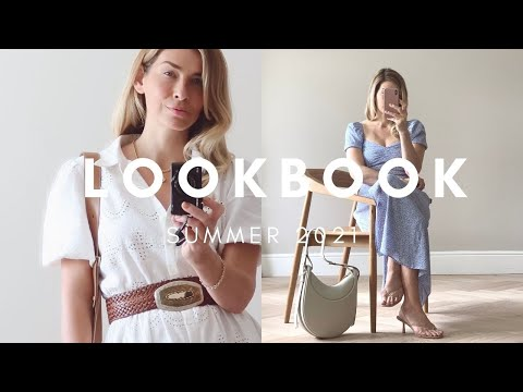 SUMMER LOOKBOOK 2021 | EFFORTLESSLY CHIC OUTFIT IDEAS