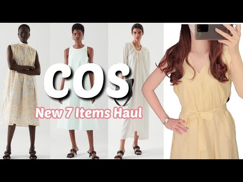 COS Howl l 7 new courses in summer Howl, course dress, new course, course dress howl, COS dress, COS Try On Haul, COS, COS SALE, COS HAUL