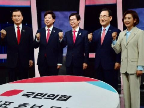 """Lee Jun-seok dan Na Kyung-won, yang juga melampirkan makalah diskusi terakhir…  """"Besar"""" vs """"Risiko Kasar"""" (Komprehensif)"""