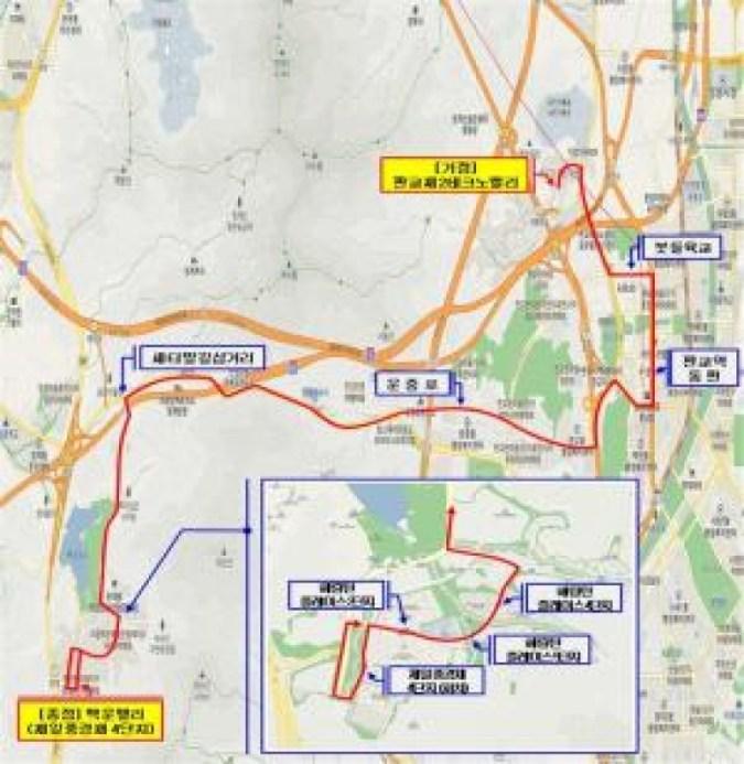 Pembukaan Bus Kota No. 360 antara Lembah Baegun dan Pangyo