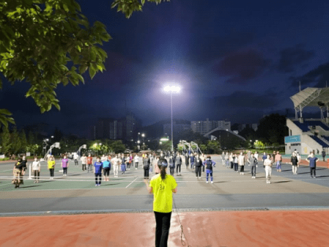 Wonju, Corona 19 'Line Dance Flash Mob'