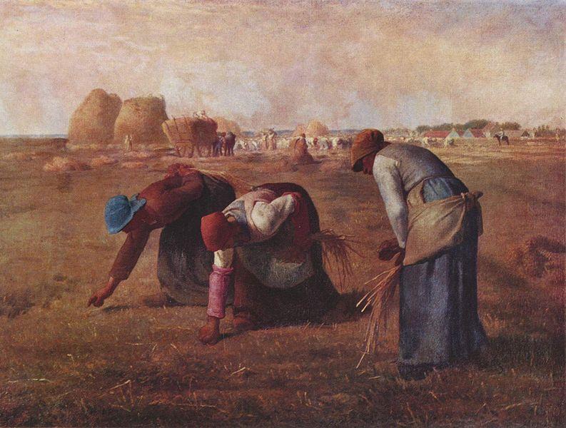 Millet. Les Glaneuses (1857)