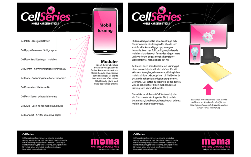 Brochure-cellseries