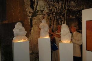 Sculptures Triptyque - Belbeuf - Dominique Rivaux