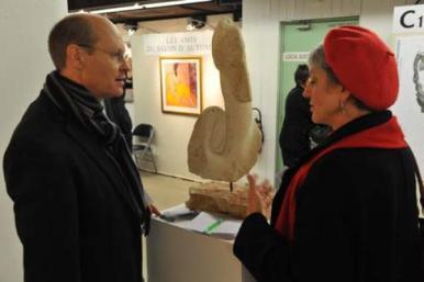 Salon d'Automne 2010 - sculpture de Dominique Rivaux
