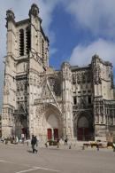 Cathédrale de Troyes - quartier du Bouchon