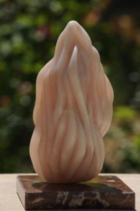 sculpture Douces Flammes - Esprit-Saint