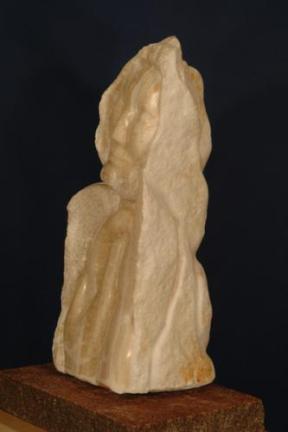 L'Homme des Sables en Onyx d'Égypte