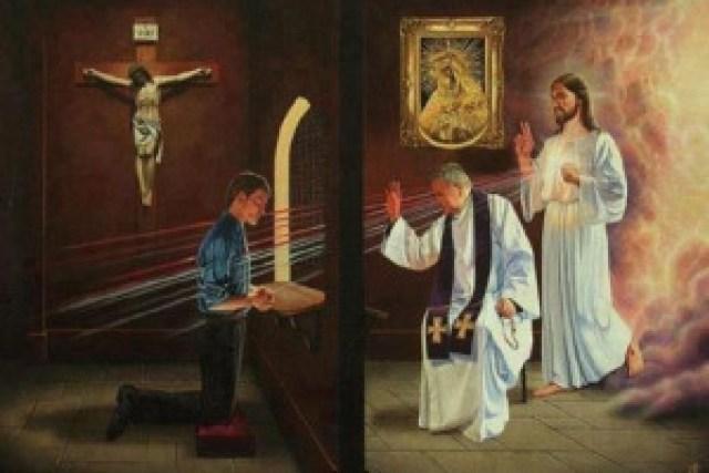 esame di coscienza per affrontare una confessione serenamente davanti alla misericordia di Dio