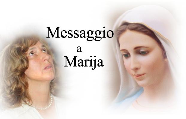 MESSAGGIO DI MARIA REGINA DELLA PACE  DI MEDJUGORJE A MARIJA  IL 25 GENNAIO 2016