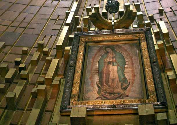 Apparizioni di NOstra Signora di Guadalupe e Miracolo del mantello