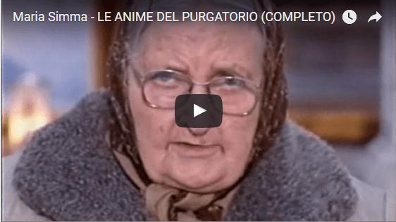 Video testimonianza di Maria Simma sulle Anime del Purgatorio