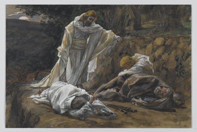Getsemani - La Passione spirituale di Gesù nell'orto degli Ulivi