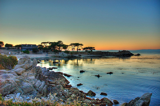 Lovers Point. Pacific Grove