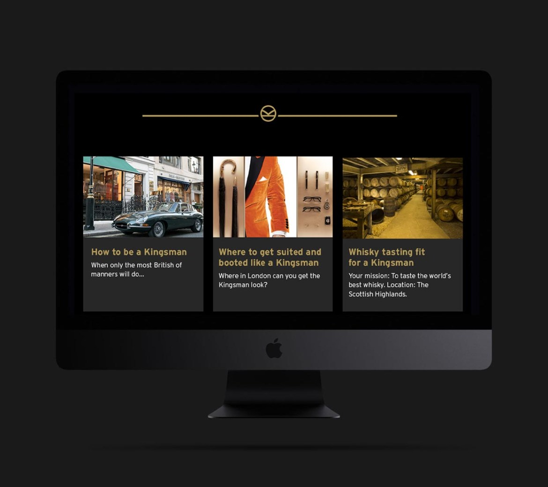Visit Great Britain Kingsman Website Page Mobile-1