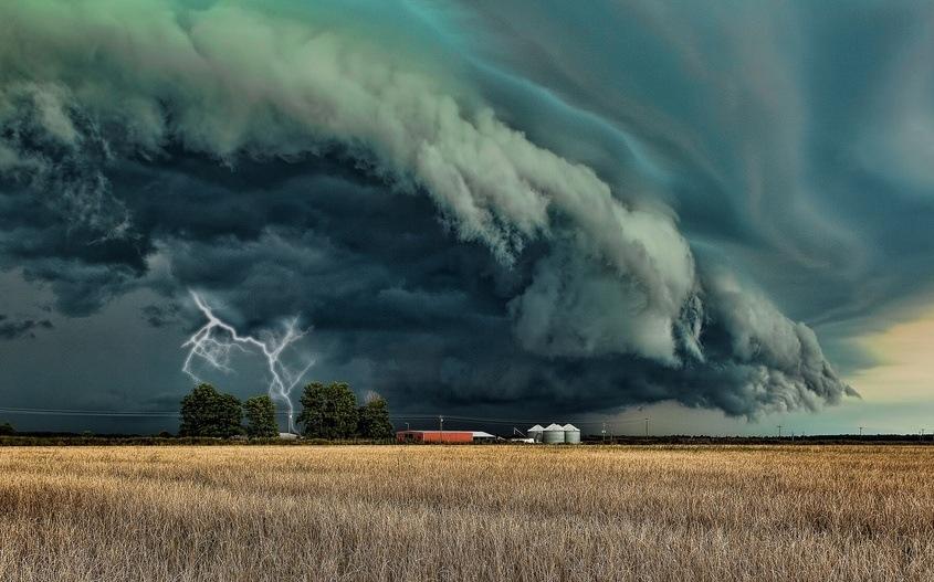 Буря в походе