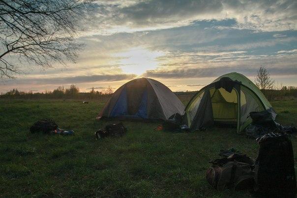 как согреться в палатке