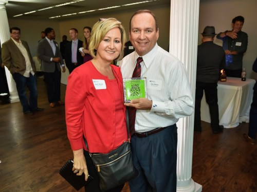 Joey and Beth Rivera at the 2016 Hot & Fast Innovation Awards