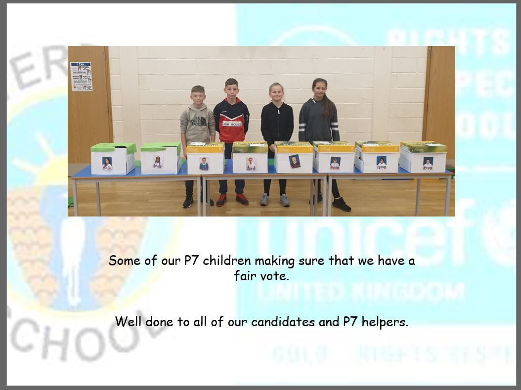 Riverbank Pupils Use Democracy To Decide House Captains!