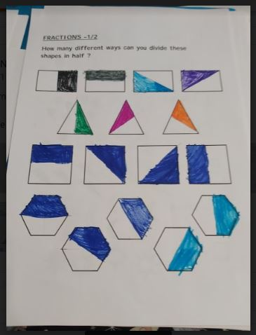 Fractions of Shapes 2