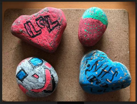 Painted Stones 1