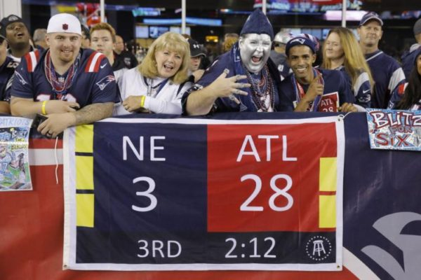 Major League Baseball's Twitter Account Just Savagely Trolled An Atlanta Falcons Fan