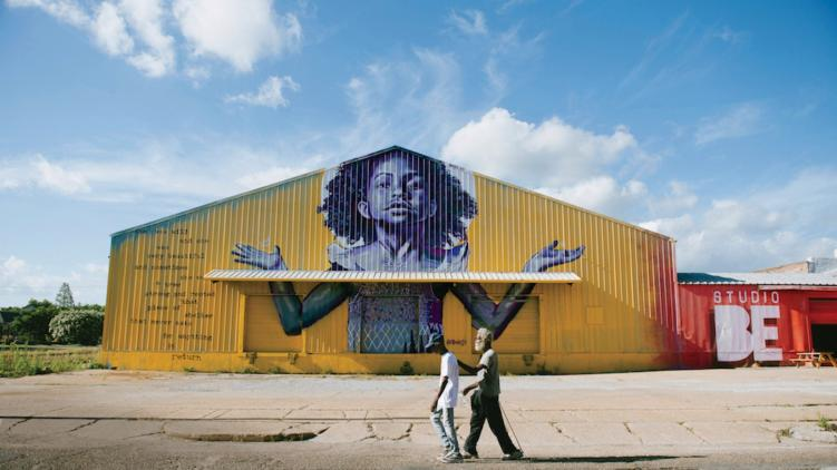 BMike mural