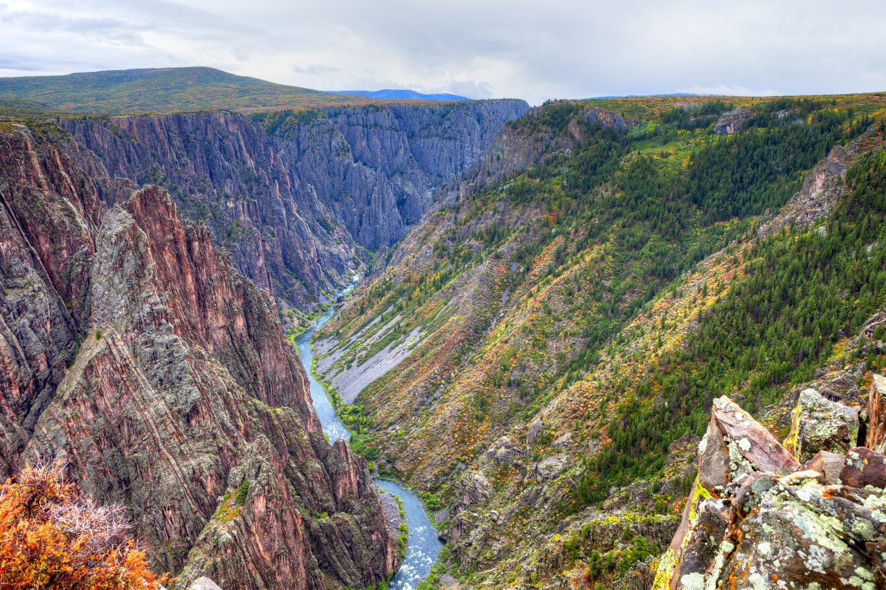 Black Canyon of Gunnison close by Riverbend RV Park and Cabins