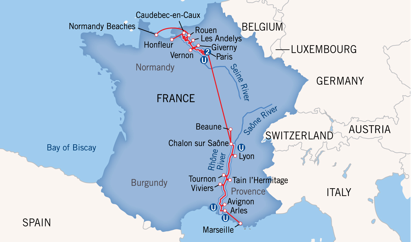 Charting Europe S River Boat Routes