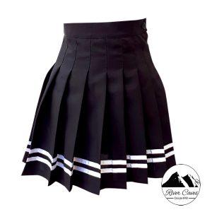 falda con prenses